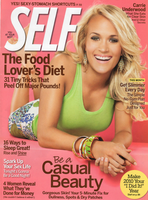 19SBcovers-Self Mag. Carrie Jan 2010
