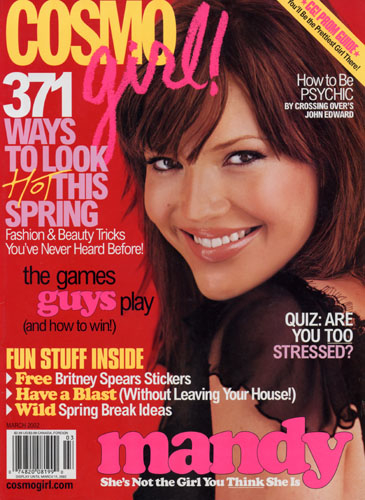 20SBcovers-MANDY MOORE – COSMO GIRL