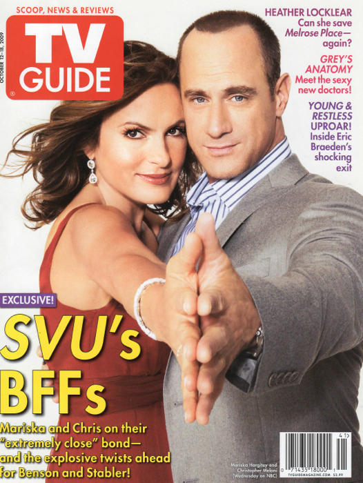 24SBcovers-TV Guide Mariska Oct. 2009