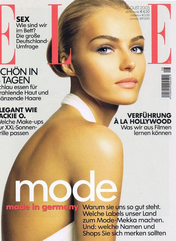 EA-003-ELLE cover Aug 2005