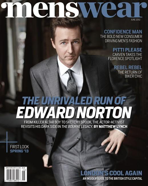 EA-G001-Edward Norton_Men's Wear cover