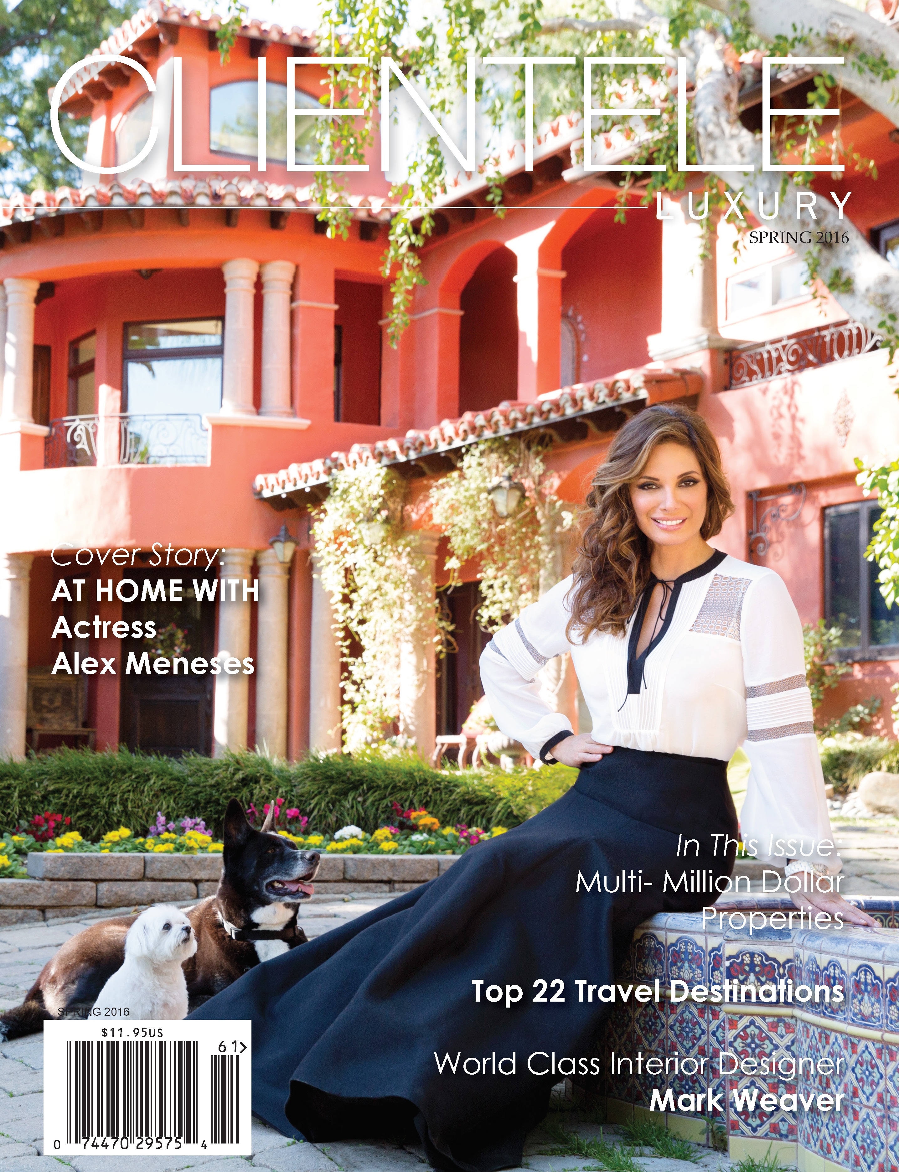 Alex Meneses Cover – Styled by TOD HALLMAN