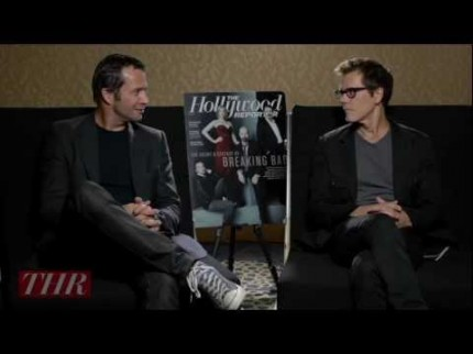 "Grooming for Kevin Bacon ""The Following"" Press"