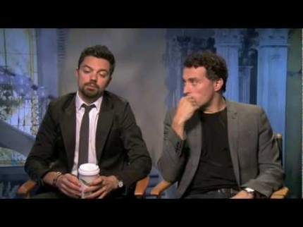 "Grooming for Dominic Cooper ""Lincoln: Vampire Slayer"" Press"