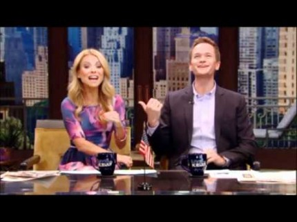 "Grooming for Neil Patrick Harris Co-hosting ""Live with Kelly!"""