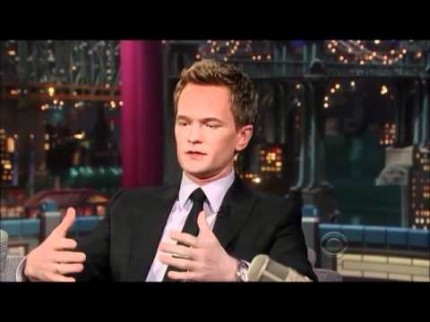 "Grooming for Neil Patrick Harris ""David Letterman Show"" 2012"