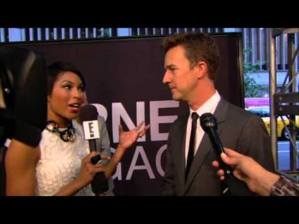 "Grooming for Edward Norton ""The Bourne Legacy"" Premiere"
