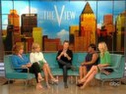"Grooming for Edward Norton ""The View"" for ""Bourne Legacy"""