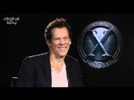 "Grooming for Kevin Bacon ""X-Men First Class"" Press"
