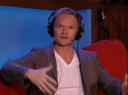"Grooming for Neil Patrick Harris on ""Howard Stern"""