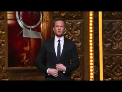 "Grooming for Neil Patrick Harris / Hosts ""Tony Awards"" 2012"